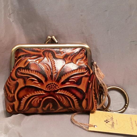 8624ef3cea1b Patricia Nash Bags | Coin Purse With Key Chain Ring Nwt | Poshmark